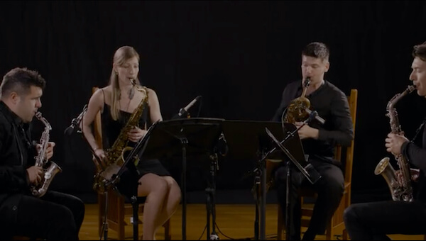 MANA Saxophone Quartet Performance
